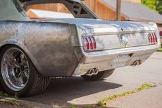 New quad exhaust on 65 mustang 1965 Mustang, Ford Mustang Shelby Cobra, Ford Mustang Coupe, Mustang Fastback, Mustang Cars, Restomod Mustang, Ford Mustangs, Mustang Restoration, Vintage Mustang