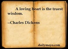 quotes from charles dickens | Quote: Charles Dickens on Love | Daily Mayo
