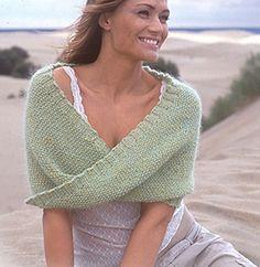 Lär dig att sticka en moebius sjal |