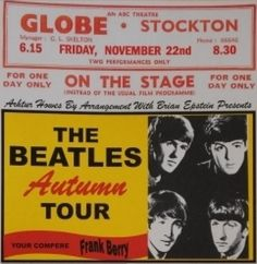 the beatles concert poster -