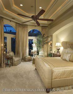 """The """"Prima Porta"""" l Sater Design Collection House Plans l Home Plans"""