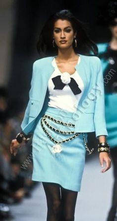 Chanel Vintage Fashion Show Detail
