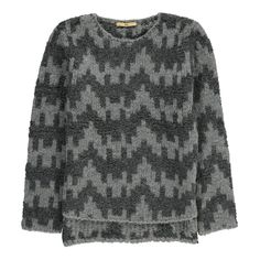 Gold Belgium Poppy Two-Tone Waves Jumper-product
