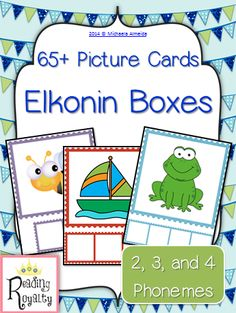 Elkonin boxes are an important tool to help young students build phonemic awareness. Using Elkonin boxes and counters, students orally segment phonemes in words. $6.00 - Michaela Almeida, Reading Royalty