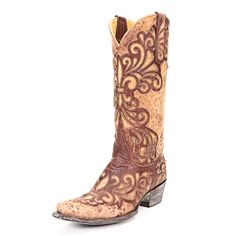 Old Gringo Brass Linda Cowgirl Boots