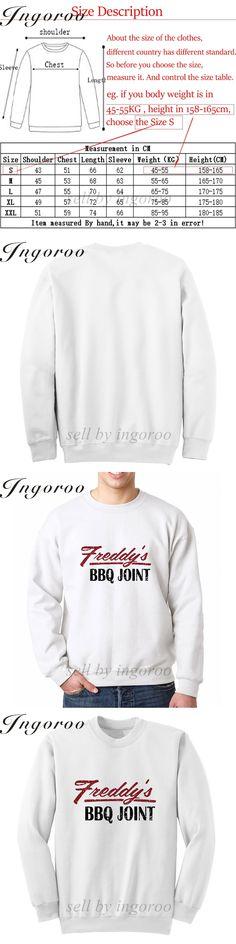Babaseal Freddys Bbq Burning Man Wholesale Hoodies New Fashion Men Streetwear Sweatshirt Skate Clothes Men 2016 Off White Hoodie