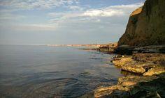Утро в Окуневке. Крым, Тарханкут.
