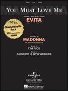 """Yamaha Sheet/Diskette Pack XG Compatible """"You Must Love Me"""" from the Motion Picture Evita by Yamaha. $9.99. This Sheet/3.5"""" Diskette Pack is made for the Yamaha Clavinova and Disklavier Products. (XG Compatible) Fully Orchestrated XG MIDI file and Sheet Music to the classic song """"You Must Love Me."""" The Sheet Music is written for Piano/Vocal/Guitar."""