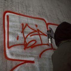 Uzi bombing in Stockholm, Graffiti