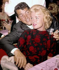 Dean Martin and his wife, Jeanne - undated - UPLOAD by: Michel Reno