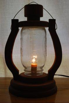 ball jar lantern
