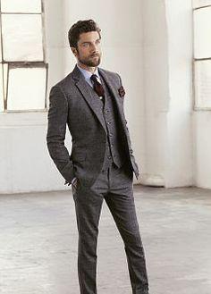 H.E.BY MANGO - VÊTEMENTS - Pantalons - Pantalon de costume laine pantalon 69.99e gilet 59.99e veste 169.99e