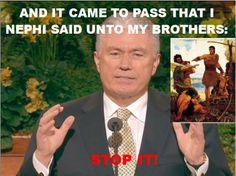 Modern Mormon Men: The Uchtdorf Meme