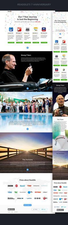 Website Design 2013-2014, 1/2 on Behance