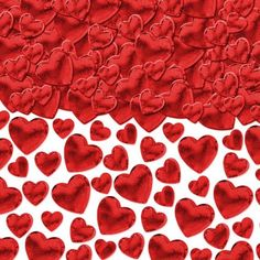 Red Hearts Confetti 2 1/2oz - Party City