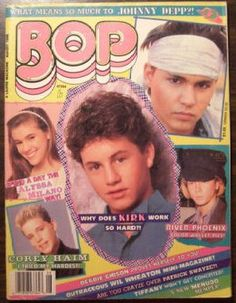 Bop magazine! Gotta love the plastered posters on my walls!