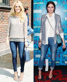 How to Wear Jeans to Work - Embrace Sequins - from InStyle.com
