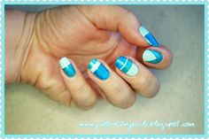 me, myself and my nails: Wyzwanie z Rainbow Lyll - TYDZIEŃ 1. paskowe szale...