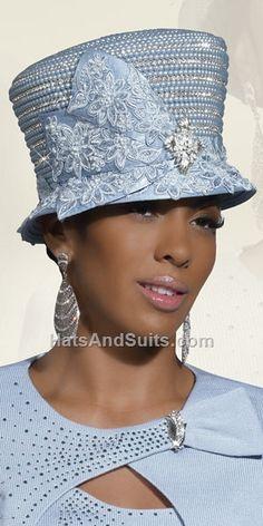 Donna Vinci Couture Church Hat H2102