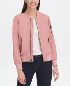 4a587b036 35 Best pink bomber jacket images in 2018 | Pink bomber jacket, Pink ...