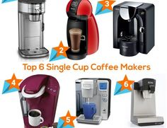 These machines use coffee pods to brew a cup of coffee. You can get the best coffee and a variety of drinks such as coffee, milk based beverages, tea, hot chocolate and many more. Single-cup coffee brewers are best suited for people who loves the comfort of preparing smaller coffee servings. These machines also entertain people as there are a variety of K-cups.