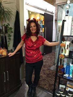 Halloween at my salon, Salon Lofts of Mentor Ohio!