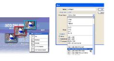 Building Menus in Adobe Photoshop for Encore DVD
