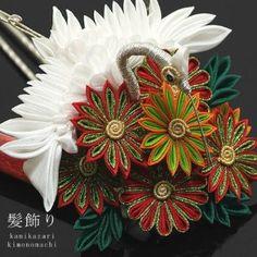 Kanzashi (crane), japanese traditional hair ornament