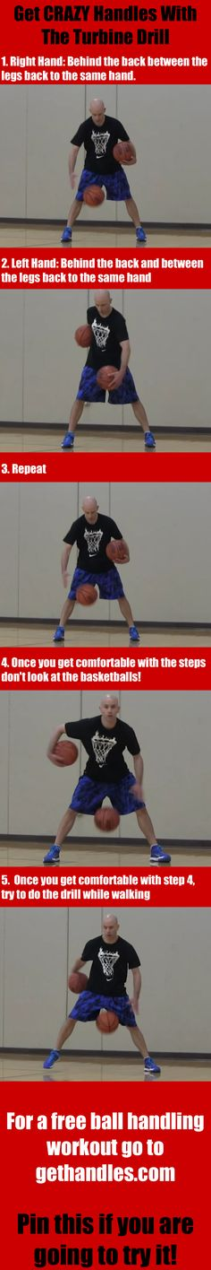 Get crazy handles with the turbine drill   #basketball #ballislife