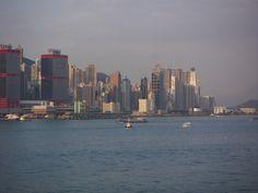 Hong Kong Harbor - view from Penninsula Hotel #china #traveltochina #destination #travel #asia #chinavacation #vacation #hongkong