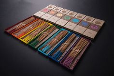 Chakra Incense Packaging by Zach Pater » Retail Design Blog