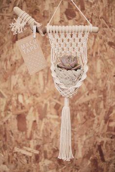 Macrame/macramé  『MACUTAPE!」マクタペ タペストリーハンガー tapestry hanger