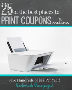 25 Places to Print Coupons Online! Save Money with these Printable Coupons!