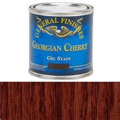 Buy General Finishes, Georgian Cherry Gel Stain, 1/2 Pint at Woodcraft.com
