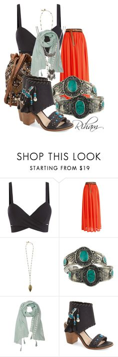 """Untitled #361"" by cremebruleelatte ❤ liked on Polyvore featuring Boho Gal, Rock 'N Rose, Very Volatile and Wet Seal"