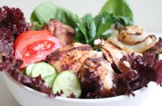 sounds yummy! Marinade, mostly... Shawarma Salad | Primal Blueprint Meal Plan