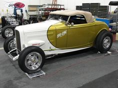 1932 Ford Roadster built by Pomona-based So-Cal Speed Shop and Detroit Street Rods