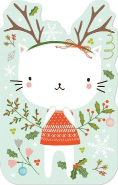 Cat enclosure cards Madison Park Greetings x Flora Waycott