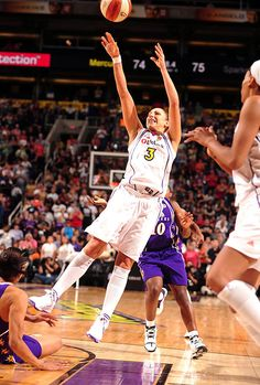In 2011, Diana Taurasi was voted in by fans as one of the Top 15 players in WNBA history.