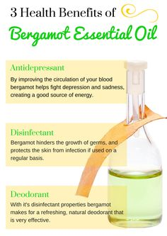 Essential oils can be used for many different things, and have a variety of health benefits. Here are 3 benefits of bergamot essential oil.