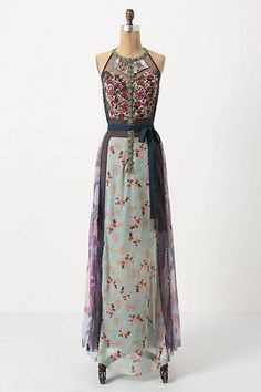Fall dress from Anthropology
