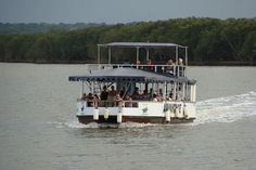 South Africa - Natal -An estuary cruise is a must at St Lucia. Image courtesy of <a href= Kwazulu Natal, South Africa, Cruise, Saints, Image, Cruises