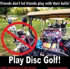 Play Disc Golf!  U.W.N.E.