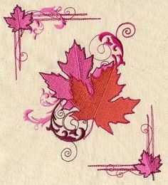Листовые Swirls_image