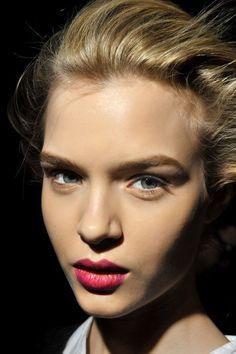 Hochzeits-Make-up trends-ombre lippen-natürliches Aussehen
