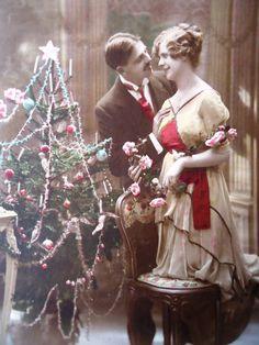 Edwardian Christmas postcard, ca. 1910s