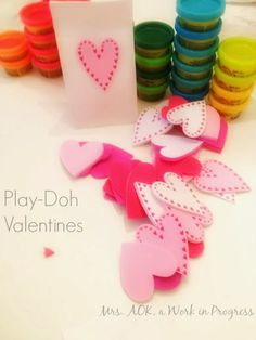 Mrs AOK, a Work in Progress: Valentines Show & Tell Easy #DIY #Valentines for kiddos & their teachers