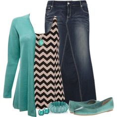 Love the comfortable yet teaching friendliness of this outfit. Fun grouping.