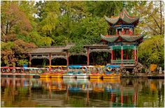 Green Lake Park, Kunming, Yunnan