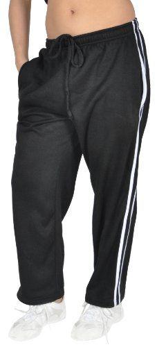 Champion Women`s Track Sweat Gym Lounge Pants with fleece lining $14.99 #bestseller
